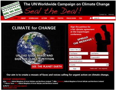 pétition ONU