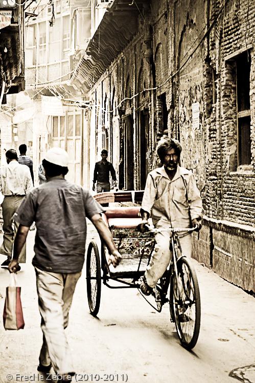Old Delhi - Bazar Chandni Chowk