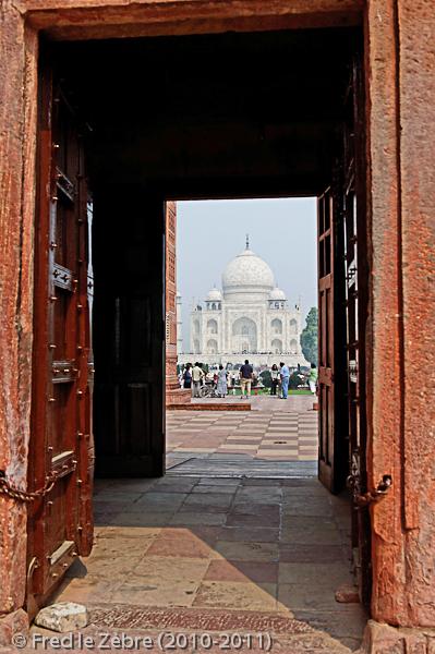 Taj Mahal, premier regard